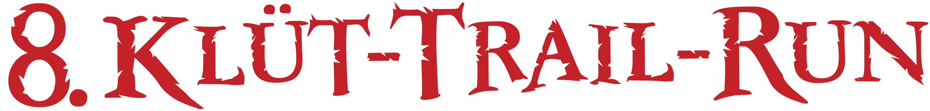 Klüt-Trail-Run Logo